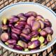 Fève extra précoce a grano violetto